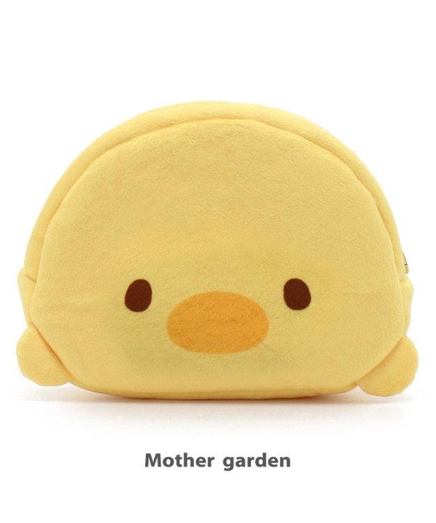 Mother garden こぴよフレンズ こぴよ 顔ボンポーチ