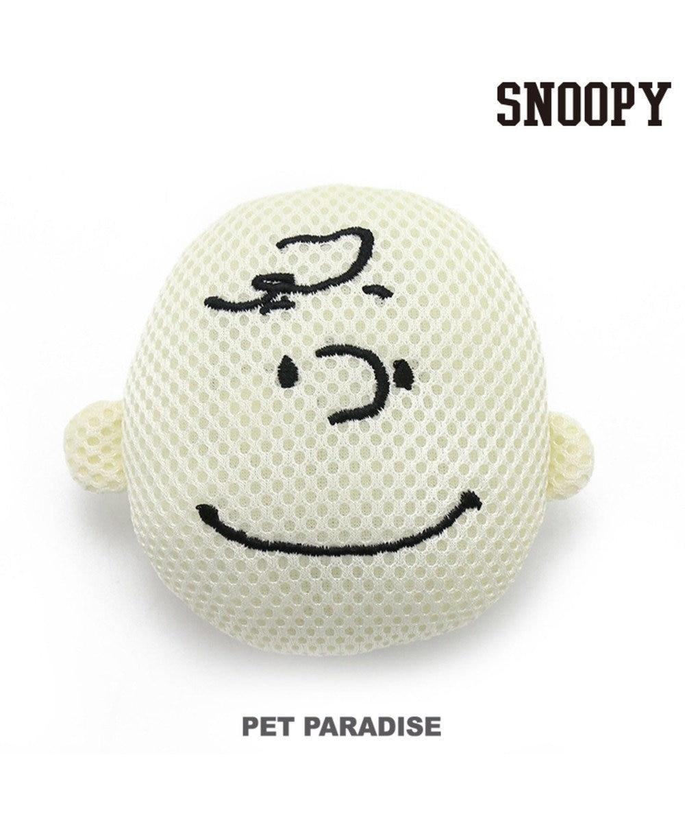 PET PARADISE スヌーピー 犬用おもちゃ デンタル フェイス チャーリーブラウン ベージュ