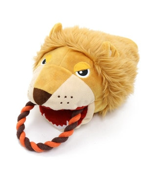 PET PARADISE ペットパラダイス 犬用おもちゃ パペット トイ ライオン オレンジ