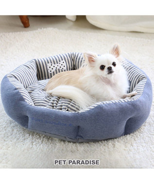 PET PARADISE ペットパラダイス ペットカドラーS アップリケ 青