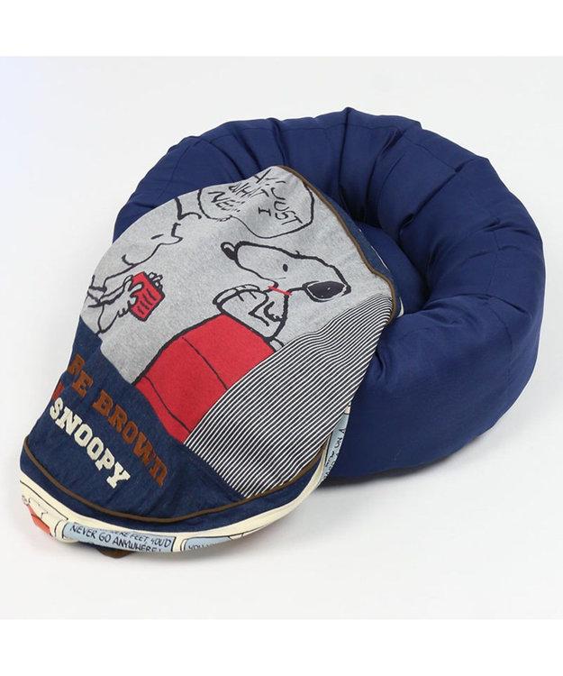 PET PARADISE スヌーピー ペットカドラー 80'S クッション M