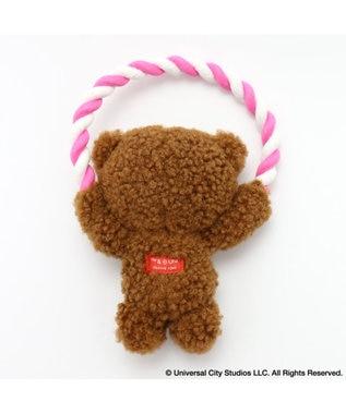 PET PARADISE ペットパラダイス ミニオン ティム ロープ おもちゃ トイ  茶系