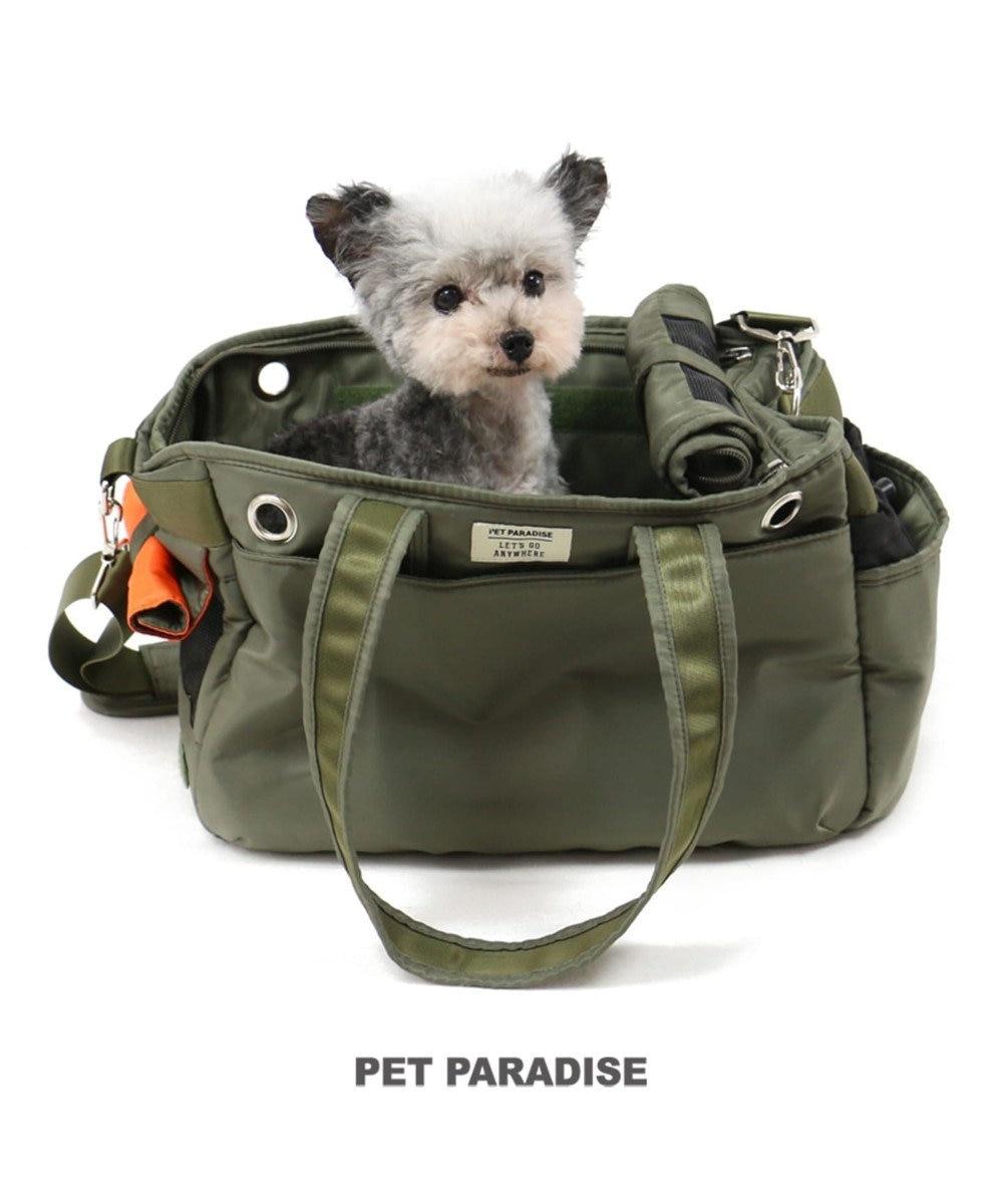 PET PARADISE ペットパラダイス ペットキャリーバッグS カーキBOX〔超小型犬〕 カーキ