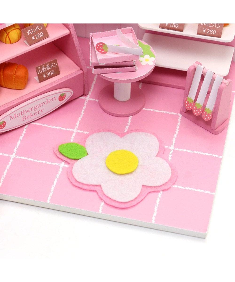 Mother garden マザーガーデン ミニチュアハンドメイド パン屋さん ピンク(淡)