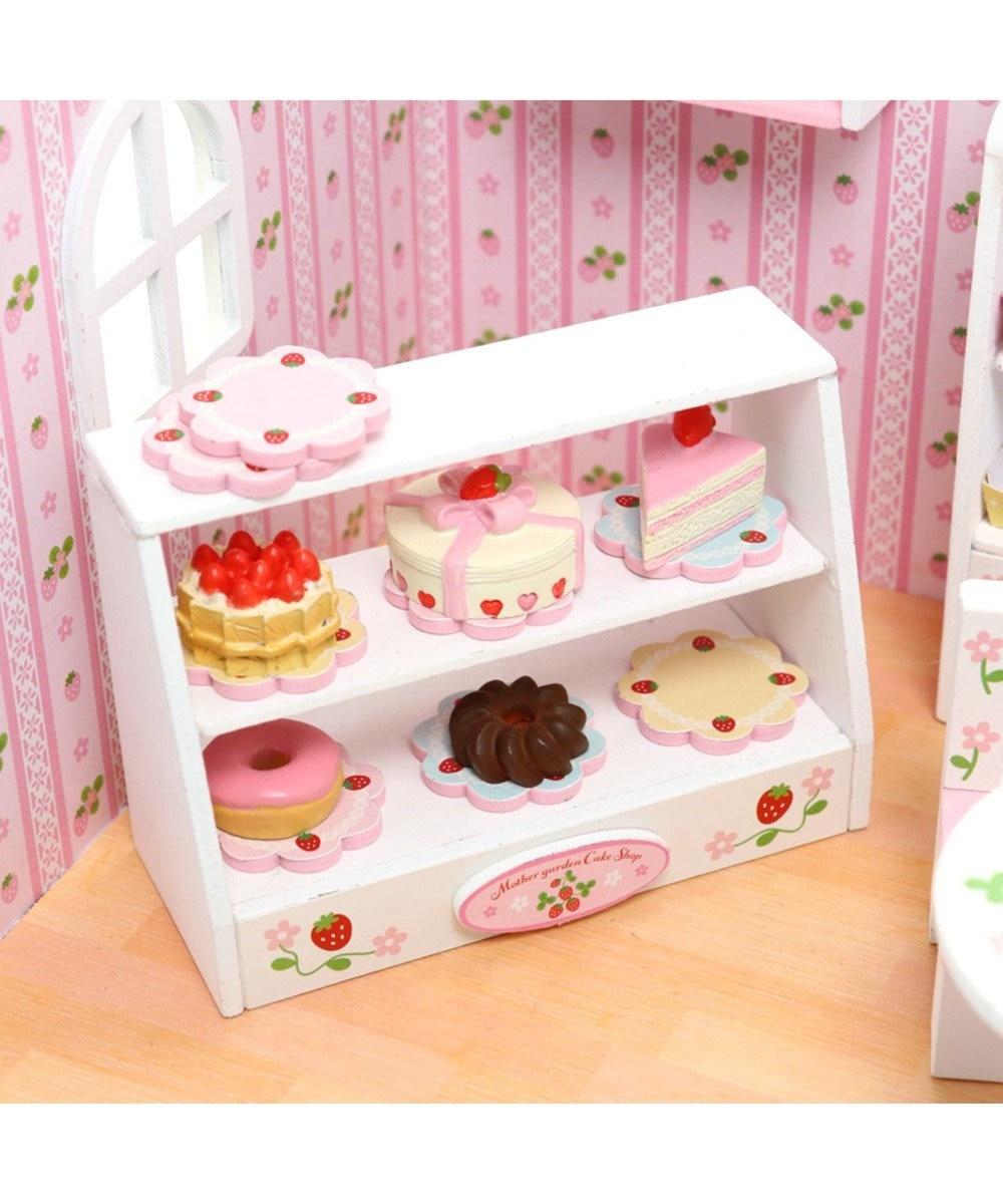 Mother garden マザーガーデン ミニチュアハンドメイド ケーキ屋さん ピンク(淡)