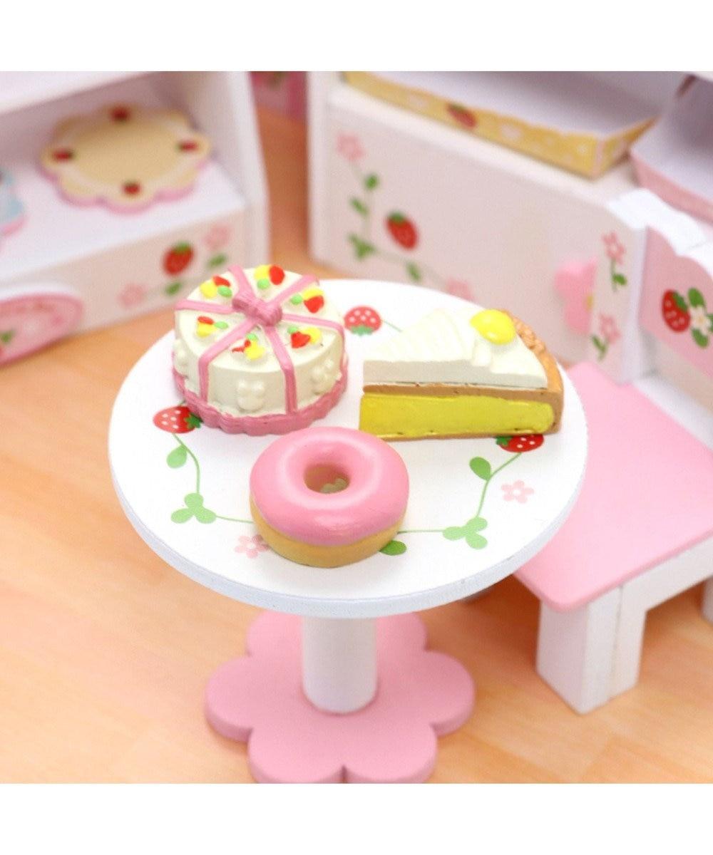 Mother garden マザーガーデン ケーキ屋さん ハンドメイドキッド 単品 ケーキ3点 Bセット ピンク(淡)