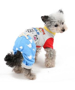 PET PARADISE ディズニー トイストーリー 雲柄 パンツつなぎ〔小型犬〕 水色