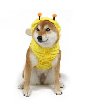 PET PARADISE ペットパラダイス 蜂 パーカー〔中・大型犬〕 黄