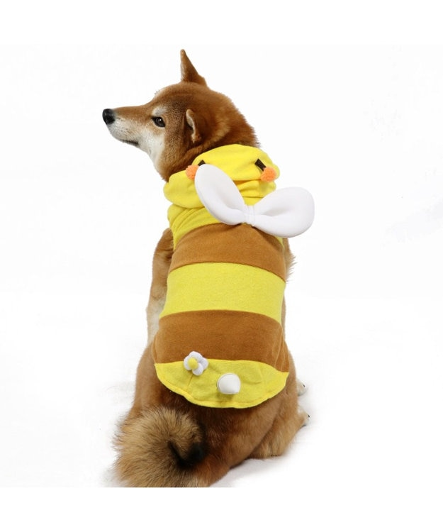 PET PARADISE ペットパラダイス 蜂 パーカー〔中・大型犬〕