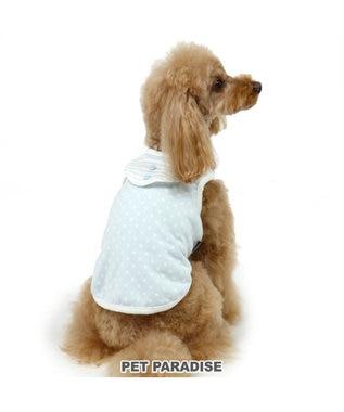 PET PARADISE ペットパラダイス パピー 星柄 タンク〔超・小型犬〕 水色