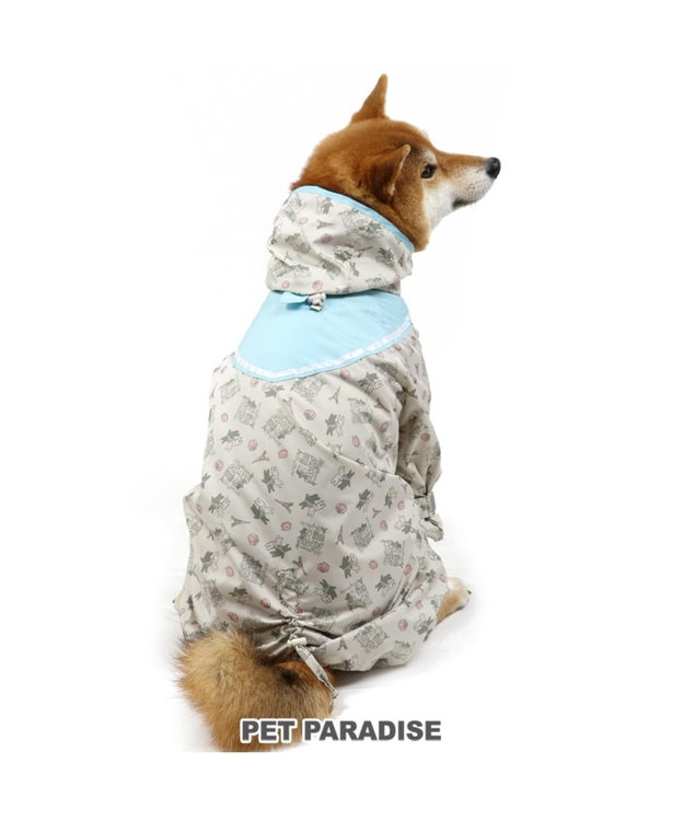 PET PARADISE リサとガスパール セーラー レインコート フルカバータイプ〔中・大型犬〕
