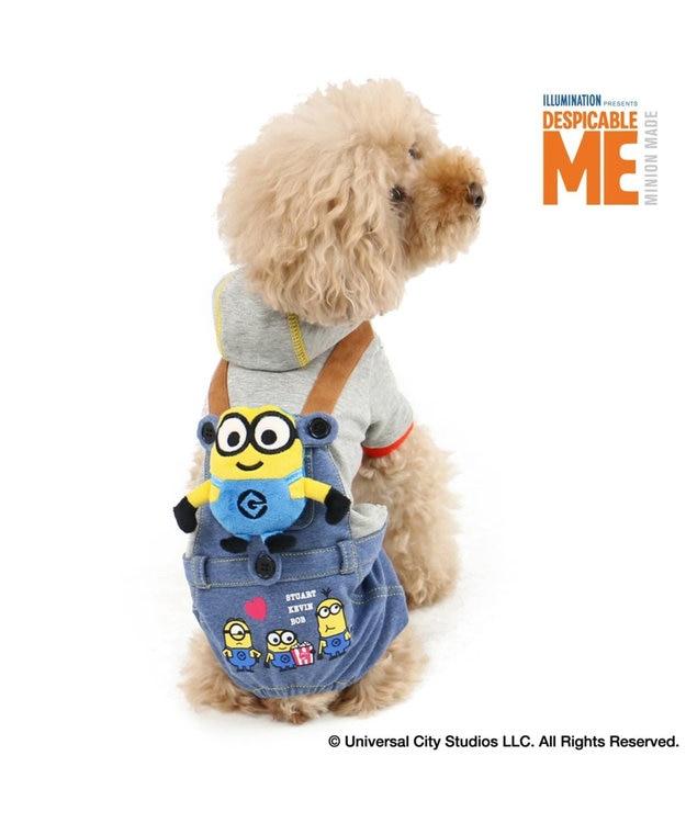 PET PARADISE ミニオン ボブ付 パンツつなぎ〔小型犬〕