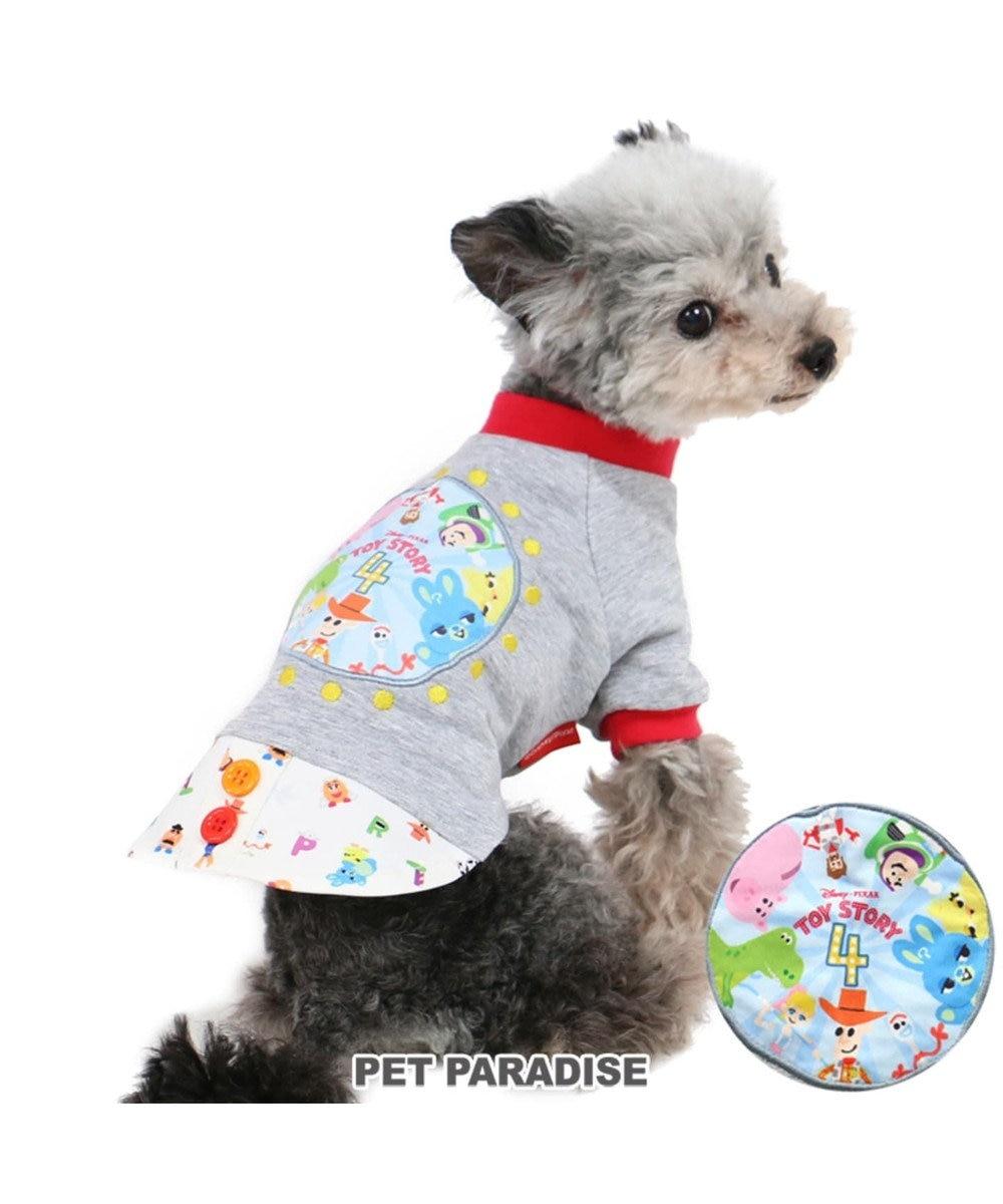 PET PARADISE ディズニー トイストーリー アップリケ トレーナー〔小型犬〕 グレー
