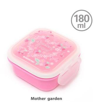 Mother garden マザーガーデン 野いちご フルーツケース 《リボン柄》 日本製 ピンク(淡)