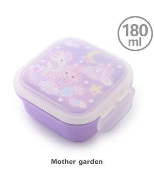 Mother garden うさもも フルーツケース 《ユニコーン柄》 日本製 デザートケース 0