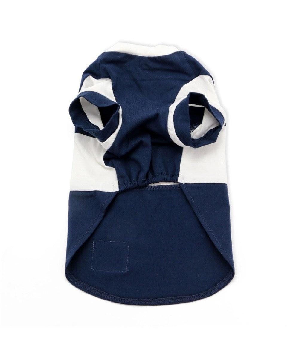 PET PARADISE Lee ボックス ロゴ Tシャツ 紺〔小型犬〕 紺(ネイビー・インディゴ)