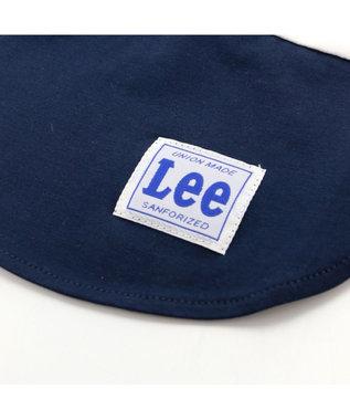 PET PARADISE Lee ボックス ロゴ Tシャツ 紺〔中・大型犬〕 紺(ネイビー・インディゴ)