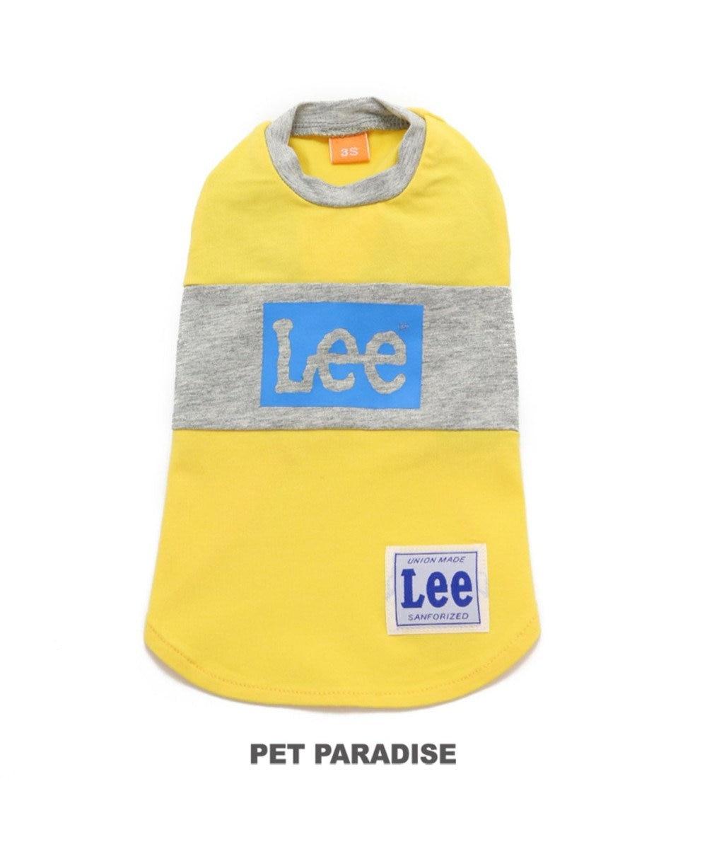 PET PARADISE Lee ボックス ロゴ Tシャツ 黄色〔中・大型犬〕 黄