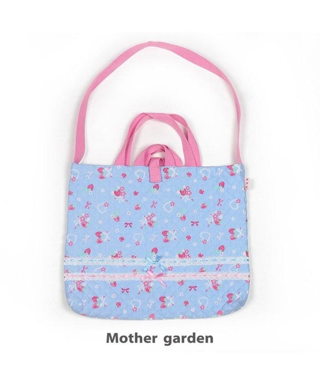 Mother garden マザーガーデン 野いちご 《ブーケ柄》 キルトレッスンバック 手提げ袋