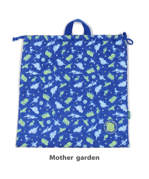 Mother garden きょうりゅう日記 《地球柄》 キルト3点セット