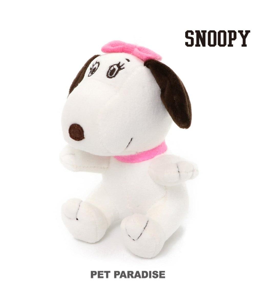 PET PARADISE スヌーピー 犬用おもちゃ デイジーヒル ベル 白~オフホワイト