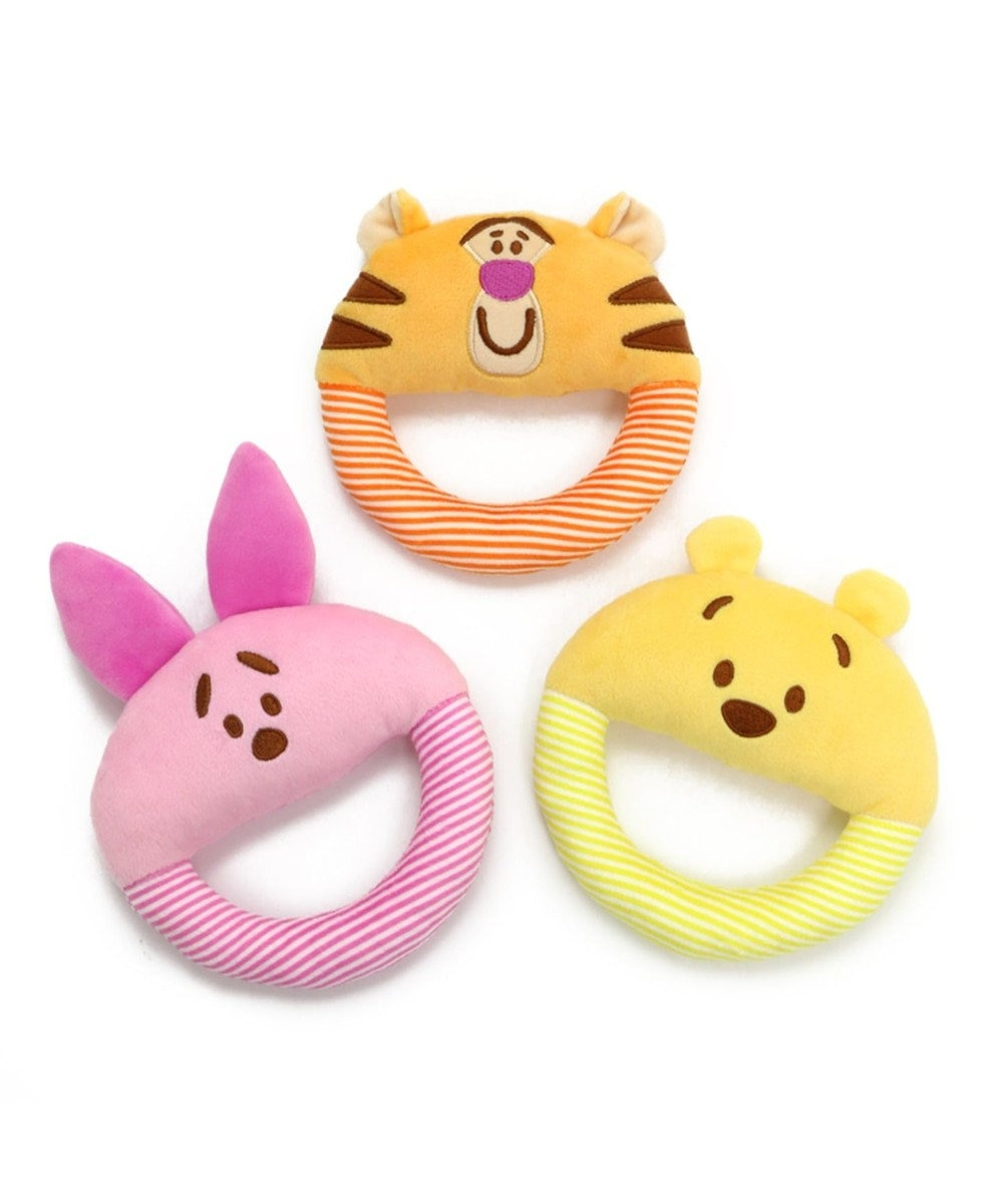 PET PARADISE ディズニー 犬用おもちゃ プーさん ソフト 黄
