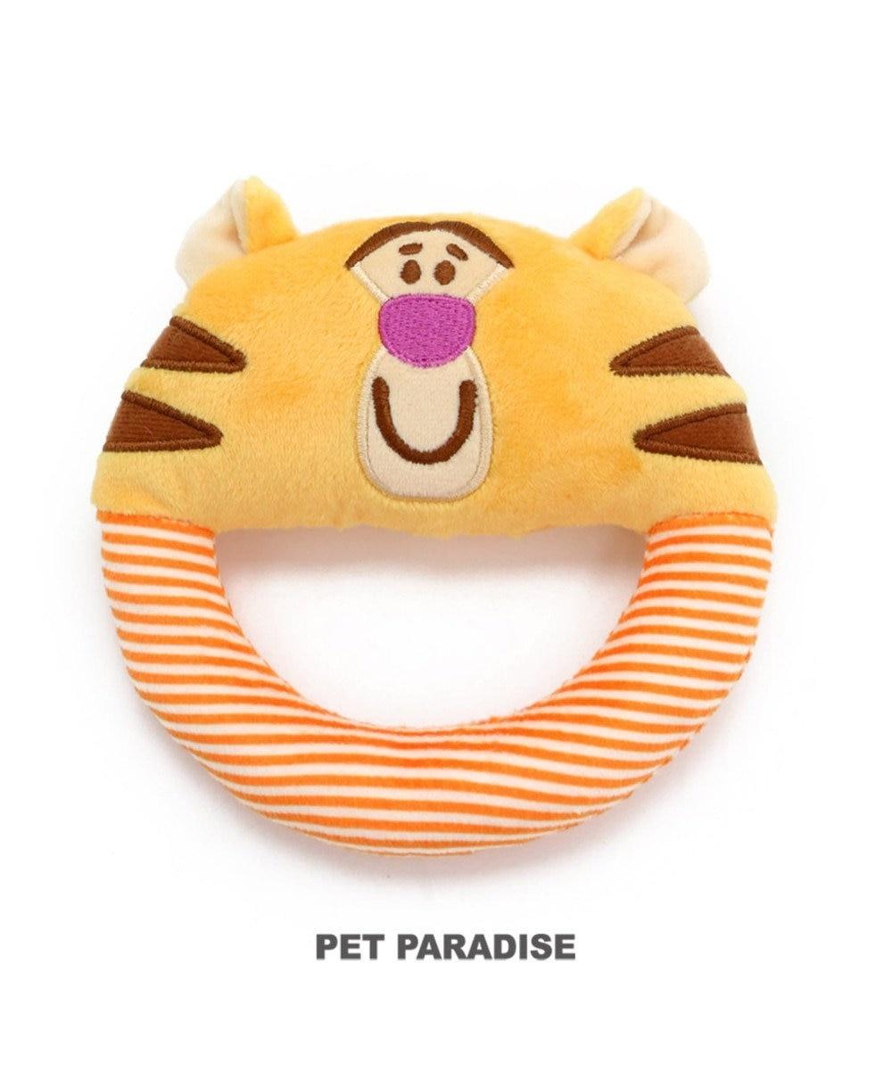 PET PARADISE ディズニー 犬用おもちゃ プーさん  ティガー ソフト オレンジ