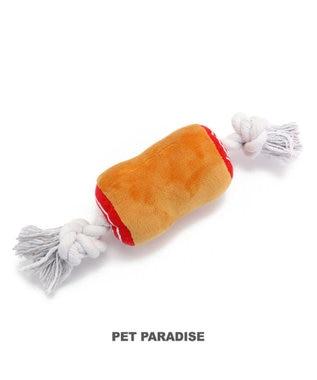 PET PARADISE 犬用品 ペットグッズ 犬 おもちゃ ペットパラダイス 犬 おもちゃ ロープ 骨付き肉 小| おうちであそぼう おうちで遊ぼう お家で遊ぼう おうち時間 お家遊び 犬 おもちゃ 音が鳴る ロープ オモチャ ペットのペットトイ ペット用 玩具 TOY 小型犬 茶系