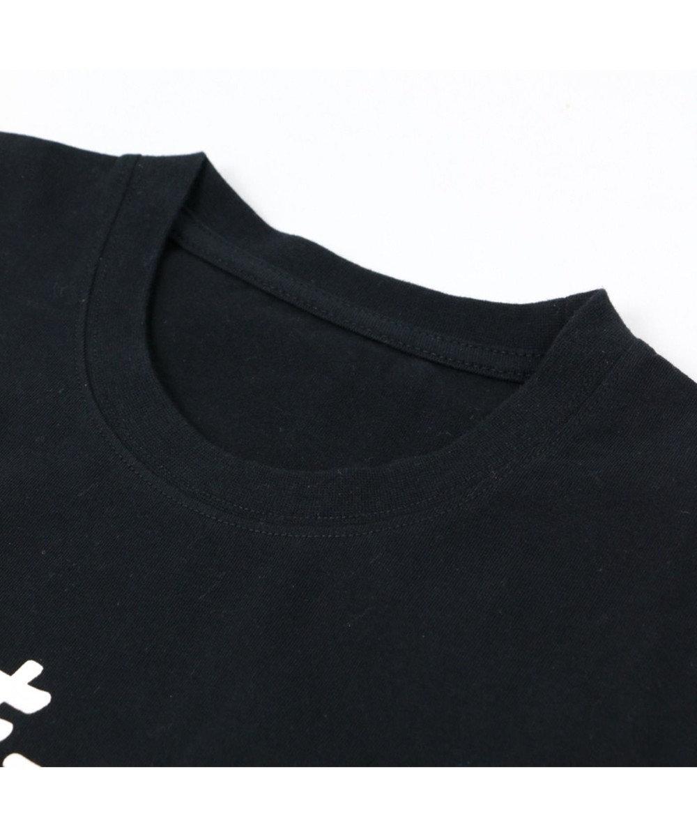 Mother garden しろたん Tシャツ 半袖 さんキュ~!!!柄 ユニセックス 黒