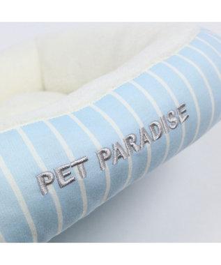 PET PARADISE ペットパラダイス ペットカドラーS ボーダー パピー 水色