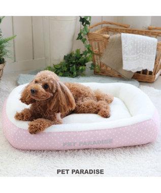 PET PARADISE ペットパラダイス ペットカドラーM 水玉 パピー ピンク(淡)