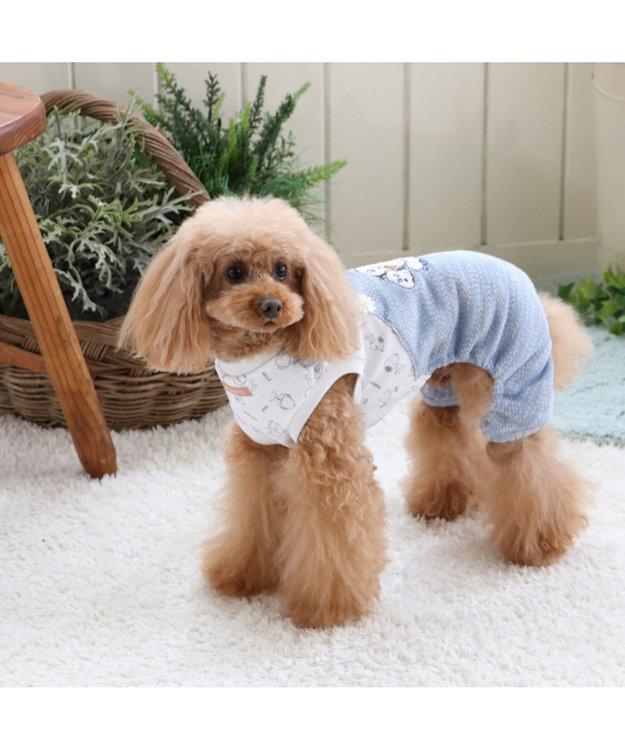 PET PARADISE スヌーピー デイジーヒル オーバーオール〔小型犬〕