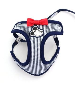 PET PARADISE ミッキーマウス ヒッコリー リード付ハーネス ペット3S 水色