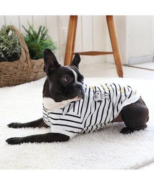 PET PARADISE スヌーピー スマイル トレーナー 白〔中型犬〕 白~オフホワイト