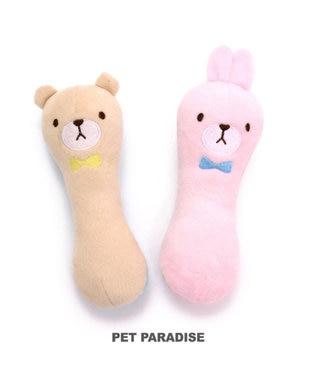PET PARADISE ペットパラダイス 犬用おもちゃ パピー くま 水色