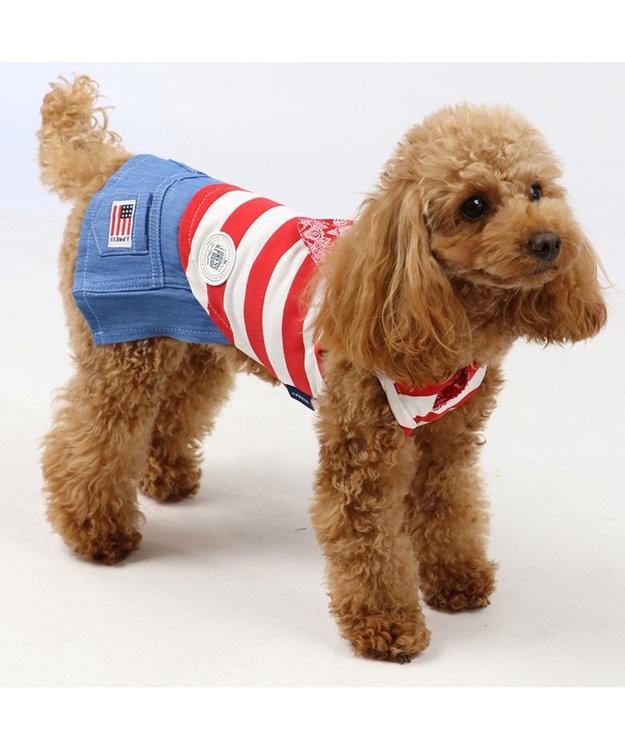 PET PARADISE J.PRESS クールマックス スカート付き上下タンク〔小型犬〕