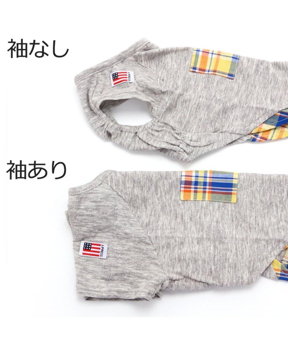 PET PARADISE J.PRESS スラブ天竺Tシャツ〔小型犬〕 グレー