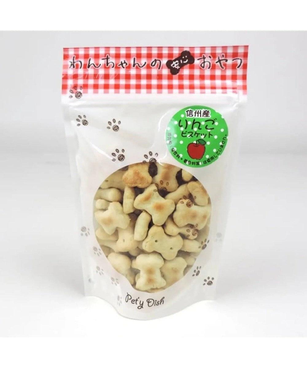 PET PARADISE 犬 おやつ 国産 フード ペットパラダイス 犬 おやつ 国産 信州産 りんご ビスケット 100g   オヤツ リンゴ クッキー 原材料・原産国