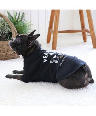 PET PARADISE スヌーピー フレンズTシャツ 黒 〔中・大型犬〕 黒
