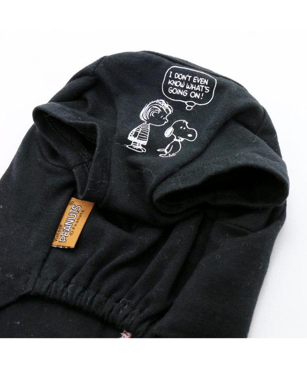 PET PARADISE スヌーピー フレンズTシャツ 黒 〔中・大型犬〕
