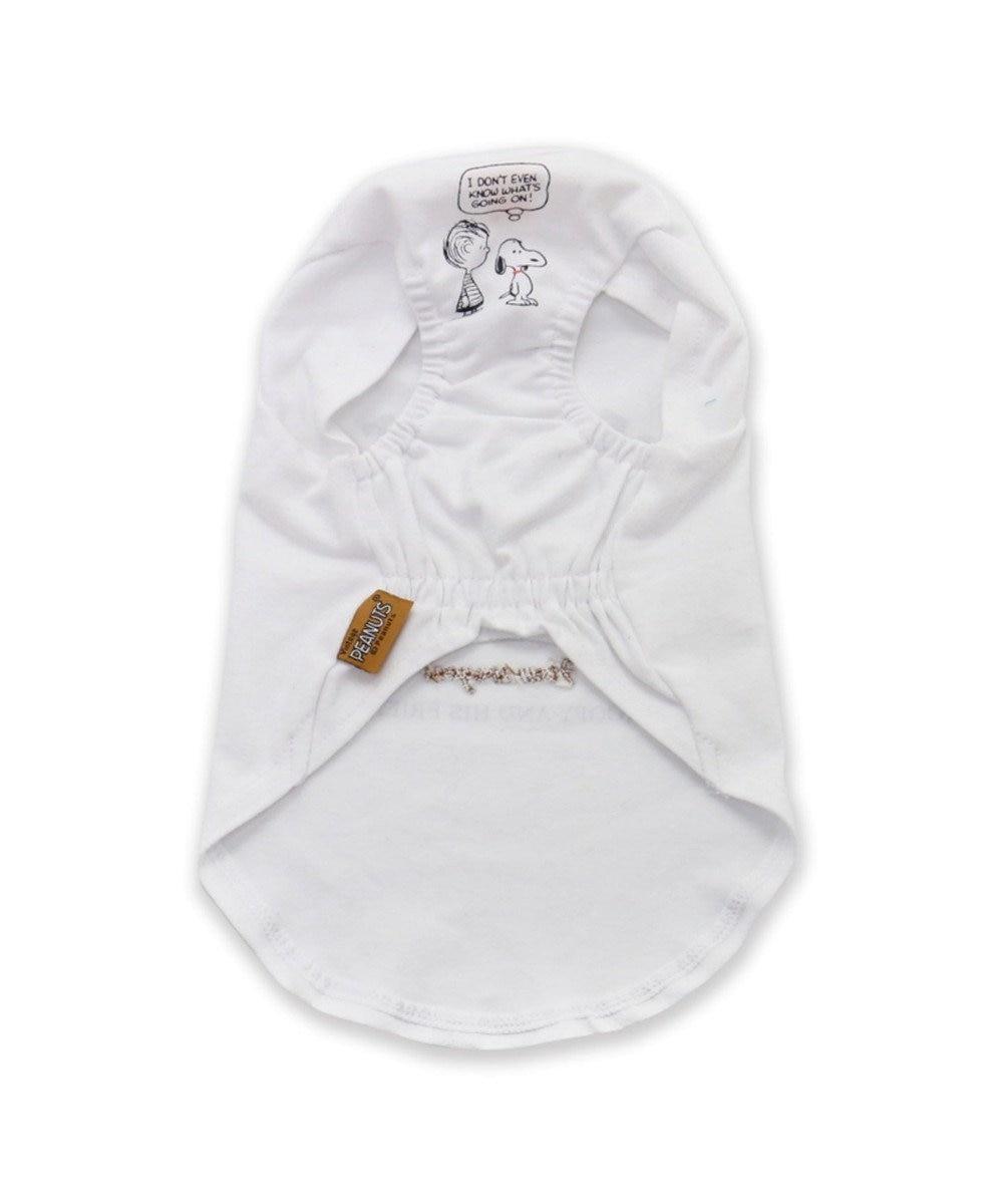 PET PARADISE スヌーピー フレンズTシャツ 白 〔中・大型犬〕 白~オフホワイト