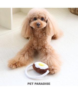 PET PARADISE なりきりペッツ 犬用おもちゃ ハンバーグトイ 0