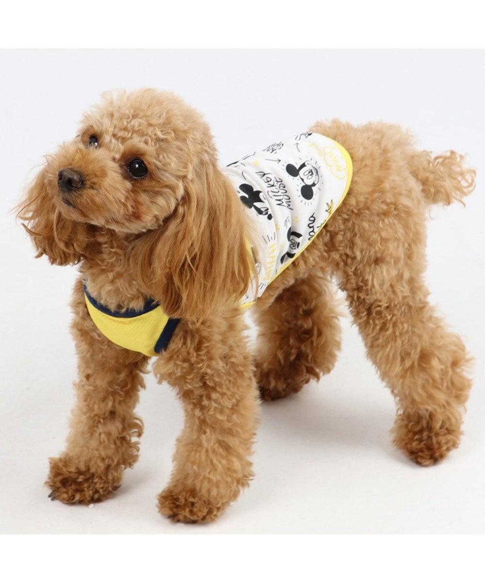 PET PARADISE ディズニー ミッキー クールマックスタンク  〔小型犬〕 接触冷感 虫よけ 黄