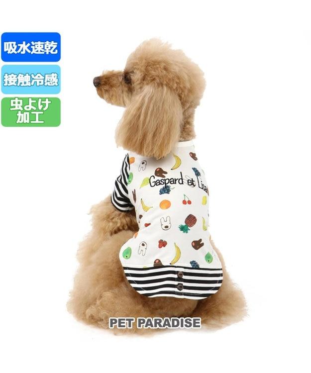 PET PARADISE リサとガスパール クールマックス Tシャツ 〔小型犬〕接触冷感 虫よけ フル