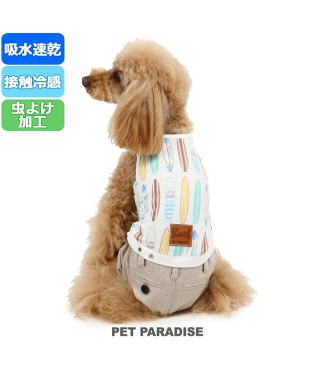 PET PARADISE ペットパラダイス クール 接触冷感 虫よけ パンツつなぎ 〔小型犬〕