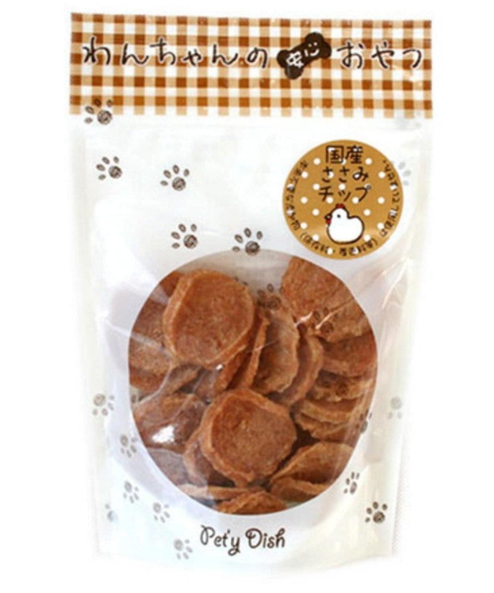 PET PARADISE ペットパラダイス 愛犬用おやつ ささみチップ 原材料・原産国
