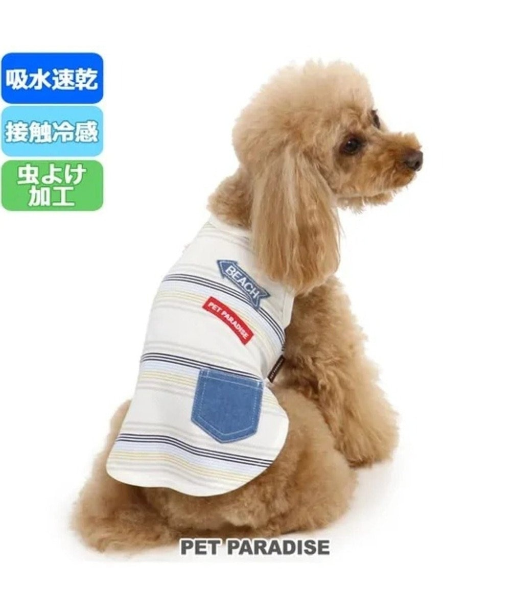PET PARADISE ペットパラダイス クールマックス 接触冷感 虫よけ タンク〔小型犬〕 青