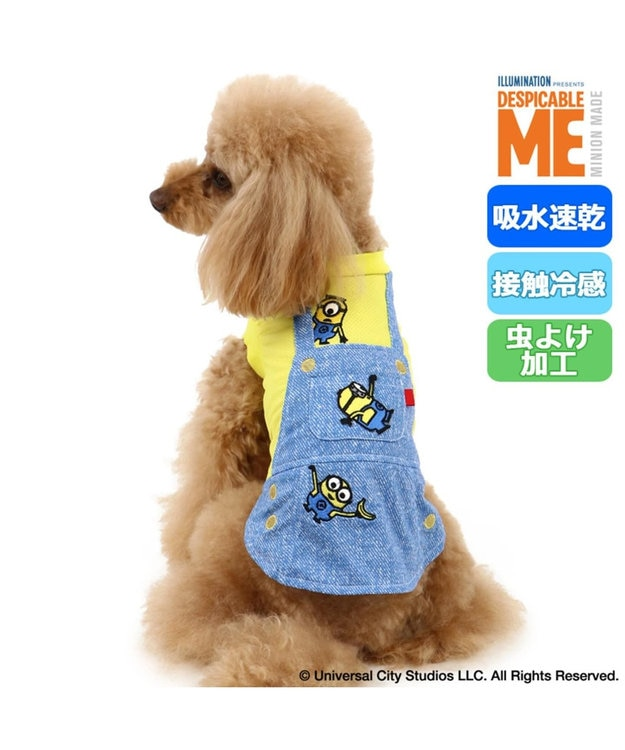 PET PARADISE ミニオン クールマックス 接触冷感 虫よけ Tシャツ〔小型犬〕