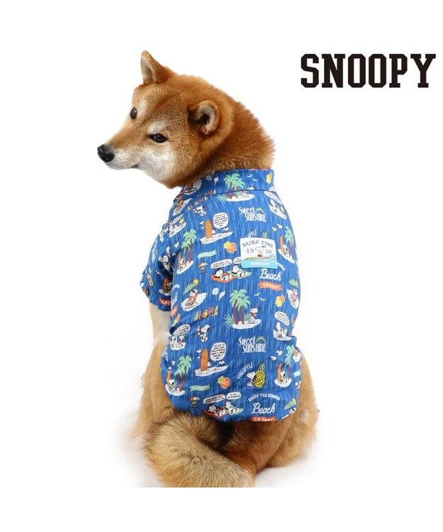 PET PARADISE スヌーピー ビーチ アロハシャツ〔超小型・小型犬〕
