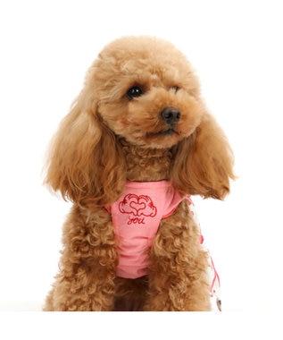 PET PARADISE 犬服 犬用品 ペットグッズ ペットウェア ペットパラダイス 犬 服 春夏 クール 接触冷感 虫よけ ディズニー ミニーマウス ワンピース【小型犬】 レイヤー ひんやり 夏 涼感 冷却 吸水速乾 クールマックス キャラクター 赤